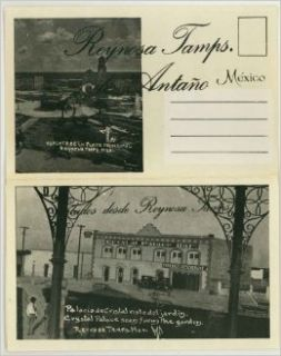 Reynosa Tamaulipas Mexico (1960's Souvenir Postcard Folder): Carlos Cant�, Emma Chesrown: Books
