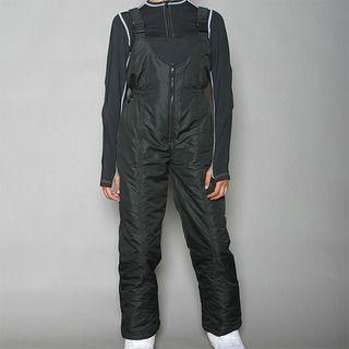 Pulse   Pantal�n cl�sico de mujer con peto para esqu�, negro Pulse Ski Pants & Bibs
