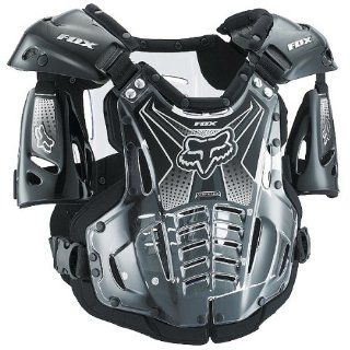 Fox Racing Airframe Youth Boys Roost Deflector MX/Off Road/Dirt Bike Motorcycle Body Armor   Black / Medium: Automotive