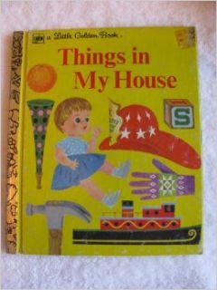 Things in My House (Little Golden Book, 206 32) Joe Kaufman Books