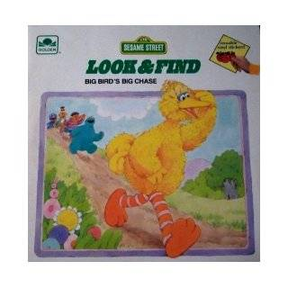 Sesame Street Look and Find Big Bird's Chase Books