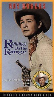 Romance on the Range [VHS]: Roy Rogers, George 'Gabby' Hayes, Sally Payne, Linda Hayes, Edward Pawley, Harry Woods, Hal Taliaferro, Glenn Strange, Roy Barcroft, Sons of the Pioneers, Richard Alexander, Pat Brady, William Nobles, Joseph Kane, Lester