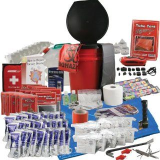 Emergency Zone Office Survival Kit for 10 Person: Sports & Outdoors