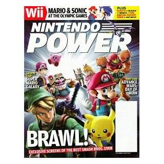 Nintendo Power #222 Super Smash Bros. Brawl   Dec 2007: Nintendo: Books