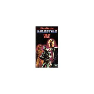 Battlestar Galactica Fire in Space [VHS] Richard Hatch, Dirk Benedict, Lorne Greene, Herb Jefferson Jr., Maren Jensen, Tony Swartz, Noah Hathaway, Terry Carter, Lew Ayres, Wilfrid Hyde White, John Colicos, Laurette Spang, John Fink, Jane Seymour, Ray Mil