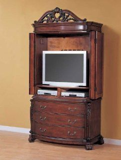 Borbados TV Armoire By Coaster Furniture   Entertainment Armoires