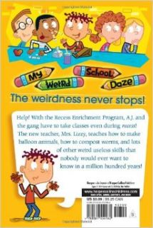 My Weird School Daze #9: Mrs. Lizzy Is Dizzy!: Dan Gutman, Jim Paillot: 9780061554162: Books