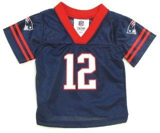 NFL New England Patriots #12 Tom Brady Infant Jersey (6/9 Months) : Infant And Toddler Sports Fan Apparel : Sports & Outdoors