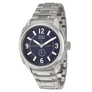 ESQ by Movado Men's 'Excel' Stainless Steel Swiss Quartz Watch ESQ by Movado Men's ESQ Watches