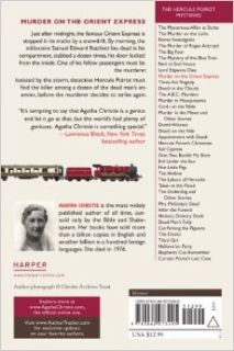 Murder on the Orient Express: A Hercule Poirot Mystery (Hercule Poirot Mysteries): Agatha Christie: 9780062073495: Books