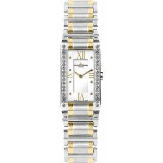Jacques Lemans Women's G 228H Gloria Classic Analog Sapphire Glass and Genuine Diamonds Watch: Watches