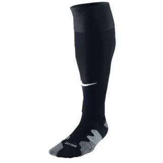 Nike Soccer Elite Socks   Soccer   Accessories   Black/Carbon Heather/Flint Grey/White