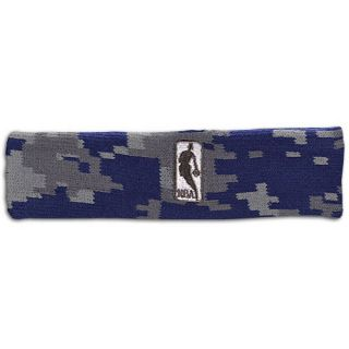 For Bare Feet NBA Logoman Camo Fade Headband   Mens   Basketball   Accessories   NBA League Gear   Navy/Charcoal/Grey