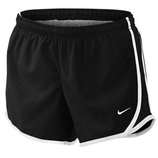 Nike Tempo Shorts   Girls Grade School   Running   Clothing   Black/Black/White/White