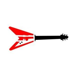 Tattoo Stencil   Flying V Guitar   #L234: Health & Personal Care
