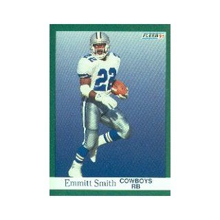 1991 Fleer #237 Emmitt Smith: Sports Collectibles