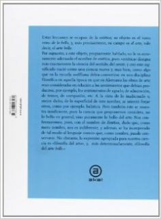 Lecciones sobre la estetica/ Lessons on the Aesthetics (Spanish Edition): Georg Wilhelm Friedrich Hegel: 9788446028239: Books