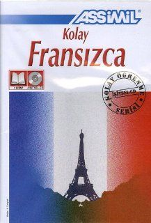Assimil Pack CD Francais Pour Turcs ; French for Turkish speakers (Book plus 4 CD's) (Turkish Edition) (French Edition) (9782700521030) Assimil Language Courses Books