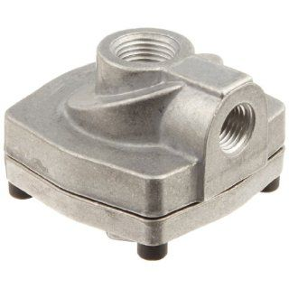 "Parker 0R25NB Quick Exhaust, 1/4"" NPT Inlet Port, 1/4"" NPT Cylinder Port, 3/8"" NPT Exhaust Port, 150 SCFM, Standard Urethane Diaphragm, 3 150 psi, 0 180 degree F: Air Compressor Accessories: Industrial & Scientific"
