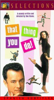 That Thing You Do (English with Spanish subtitles) [VHS]: Tom Hanks: Movies & TV