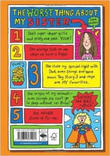 The Worst Thing About My Sister: Jacqueline Wilson, Nick Sharratt: 9780857531001: Books