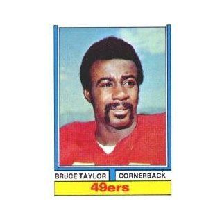 1974 Topps #241 Bruce Taylor   EX MT: Sports Collectibles