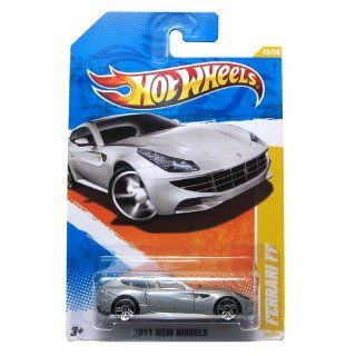 2011 Hot Wheels New Models Ferrari FF #45/244 SILVER: Toys & Games