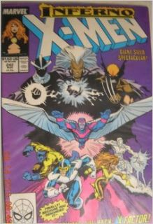 Uncanny X Men #242: Chris Claremont & Marc Sylestri Inferno Giant Sized with X Factor: Books