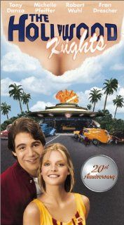 Hollywood Knights [VHS]: Tony Danza, Michelle Pfeiffer, Julius Averitt, Steve Ballard, Phil Berle, Mike Binder, Herbert Bress, Jerry Brutsche, Joey Camen, T.K. Carter, Al Chalk, Dawn Clark, William A. Fraker, Floyd Mutrux, Scott Conrad, Richard Lederer, Wi
