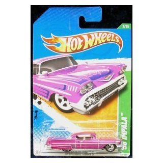 2011 HOT WHEELS TREASURE HUNT `58 IMPALA 3/15 TREASURE HUNTS 53/244: Toys & Games