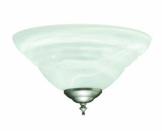 Savoy House FLG 249E SN Concord Energy Star Light Kit, Satin Nickel Finish with White Marble Glass: Home Improvement
