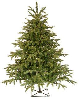 Barcana 4.5 Foot Alaskan Deluxe Fir Christmas Tree with 250 Clear Mini