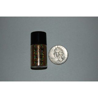 NYX Glitter Powder, Hot Gold, 0.288 Ounce : Body Glitters : Beauty