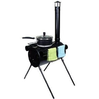 TMS STOVE 2346 Portable Military Camping Tent Steel Wood Stove: Sports & Outdoors