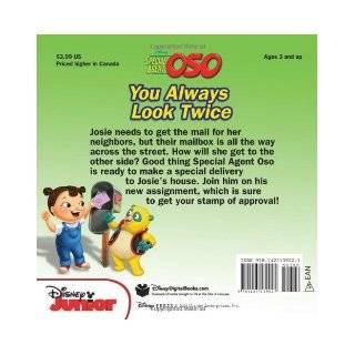 Special Agent Oso You Always Look Twice Marcy Kelman, Alan Batson 9781423139027 Books