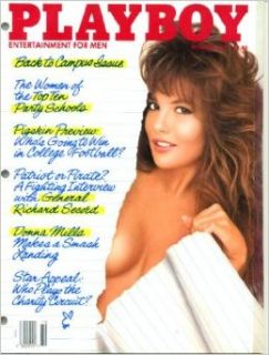 Playboy October 1987 General Richard Secord Interview, Donna Mills/Knots Landing Pictorial, Pigskin Preview, Steven Ploetz Fiction, Bob Ueker/Milwaukee Brewers 20 Questions, Star Wars Humor: Playboy Magazine: Everything Else