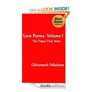 Love Poems  Volume I eBook: Chitaransh Pahalwan, Geeta Lal, Sridhar Narasimhan: Kindle Store