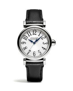 COACH Madison Black Strap Watch's