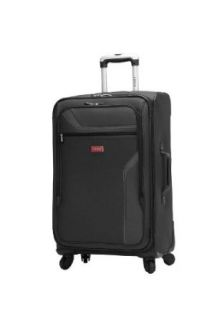 IZOD Luggage Journey 3.0 28 Inch 4 Wheel Expandable Upright, Black, One Size: Clothing
