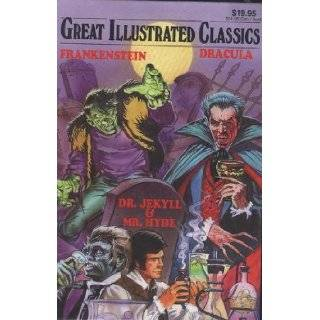 FRANKENSTEIN, DRACULA, THE STRANGE CASE OF DR. JEKYLL AND MR. HYDE, Great Illustrated Classics, #271: Mary, bram Stoker, Robert Louis Stevenson Shelley: Books