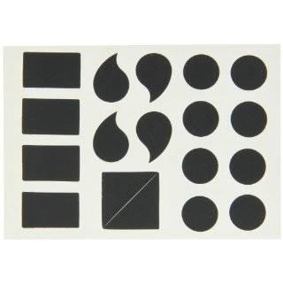 "Brady 5140 PUN Gothic Quik Align 4"" Height, 3"" Width, B 933 Vinyl, Black Color Letter, Legend ""Punctuation"" (Pack Of 5) Industrial & Scientific"