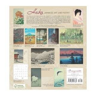 Haiku Japanese Art and Poetry 2011 Wall Calendar Art Gallery of Greater Victoria 9780764952869 Books