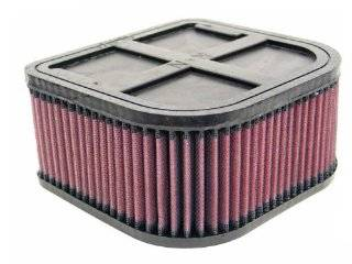 K&N YA 1283 Yamaha High Performance Replacement Air Filter: Automotive