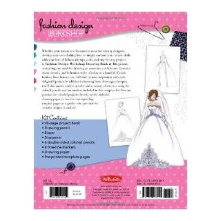 Fashion Design Workshop Drawing Book & Kit: Includes everything you need to get started drawing your own fashions!: Stephanie Corfee: 9781600583841: Books