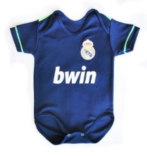 Real Madrid Away 2013 Baby Suit 0 9 months: Clothing