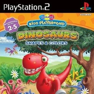 Konami Kids Playground: Dinosaurs, Shapes & Colors   PlayStation 2: Video Games