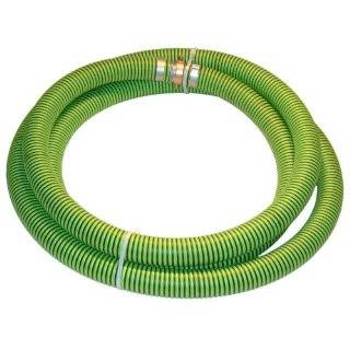 Kanaflex 300 EPDM Series EPDM Suction Hose Assembly, Green/Black, Male X Female (CXE) Camlocks Industrial & Scientific