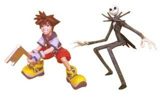 KINGDOM HEARTS ~ Sora with Jack Skellington: Toys & Games