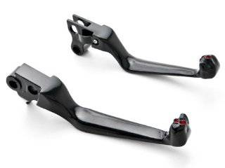 Harley Davidson Black Brake / Clutch Skull Hand Levers (1996 2012) Billet Aluminum Black Brake and Clutch Skull Hand Grips Levers Left and Right One Pair Motorcycle: Automotive