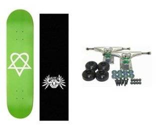 ELEMENT Skateboard BAM MARGERA Grip HEARTAGRAM BB COM G: Sports & Outdoors